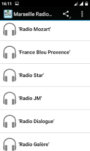 Marseille Radio Stations - screenshot