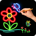 Game How to Glow Draw&Coloring Book APK for Kindle