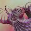 Be Weird by Glenda Popielarski - Illustration Abstract & Patterns ( m3d, purple, green, digital art, fractal art, mandelbulb 3d, raw fractal, pink, abstract artm, mb3d, fractals )
