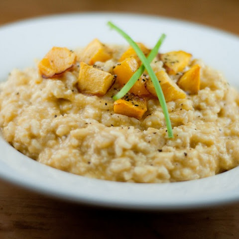 Vegan Risotto With Roasted Pumpkin
