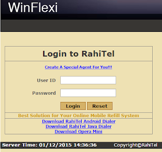 WinFlexi - screenshot