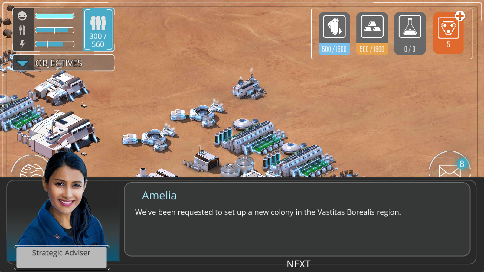 Dawn of Mars Screenshot 1