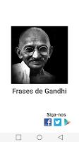 Screenshot of Frases Gandhi