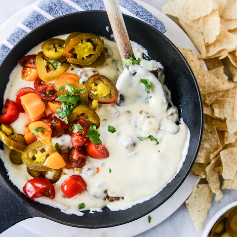 Queso Cheese Dip with Chorizo