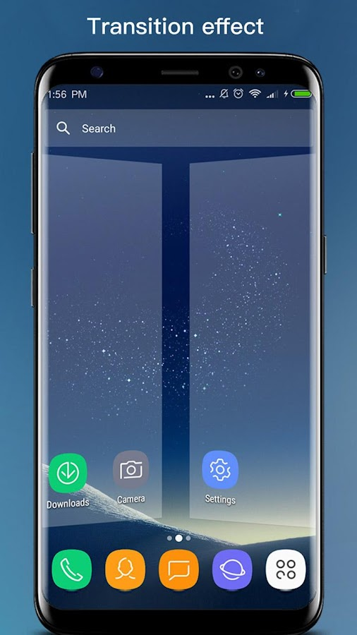 S S8 Launcher - Galaxy S8 Launcher, theme, cool Screenshot 3