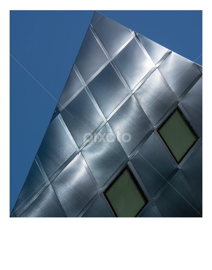 San Francisco Building by Steven Greenbaum - Abstract Patterns ( pwcabstractdiamonds )