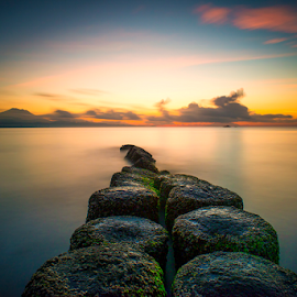 .:: silent dawn ::. by Setyawan B. Prasodjo - Landscapes Sunsets & Sunrises