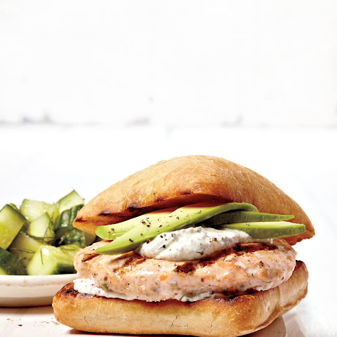 Bocconcini Chicken Burgers