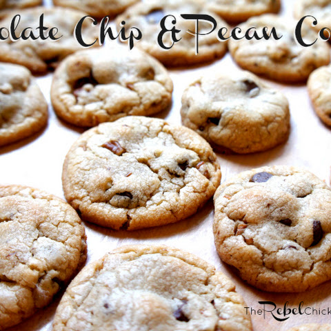 My Soft & Chewy Chocolate Chip and Pecan Cookie