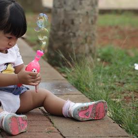 My New Toy by Raja Saputra - Babies & Children Children Candids
