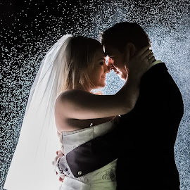 Rain by Lodewyk W Goosen (LWG Photo) - Wedding Bride & Groom ( wedding photography, wedding photographers, wedding, weddings, wedding day, wedding photos, wedding photographer, wedding destination )