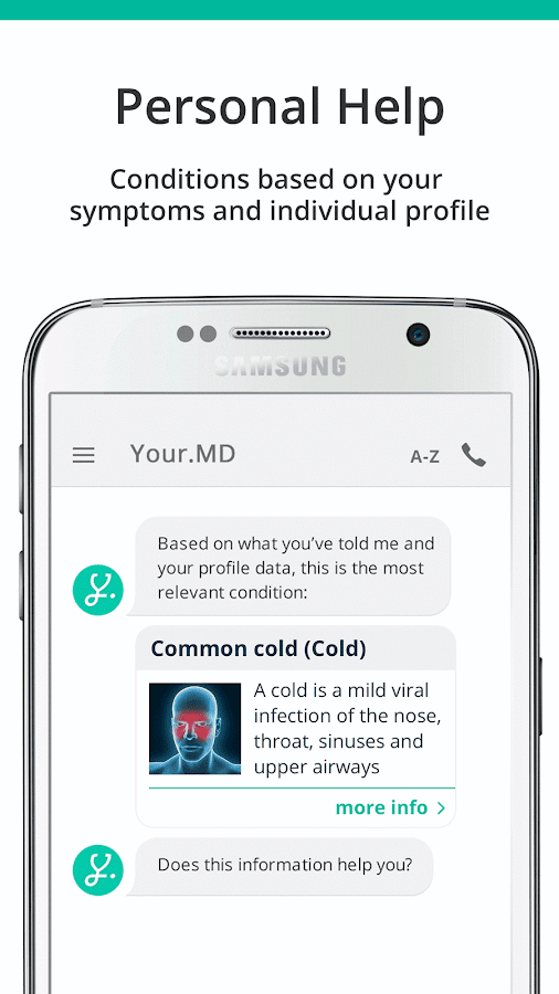 Your.MD, Free Symptom Checker Screenshot 1
