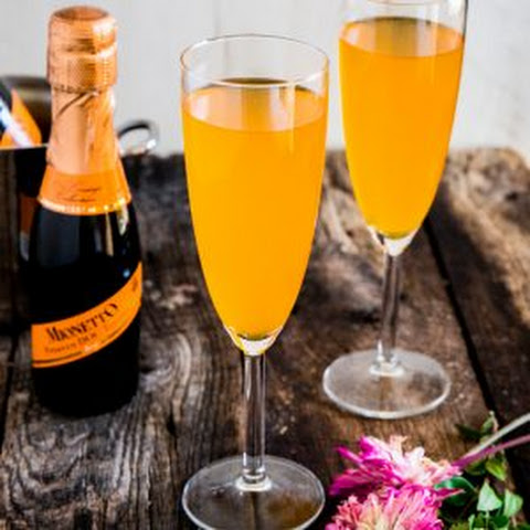 Passion Fruit Prosecco Mimosa