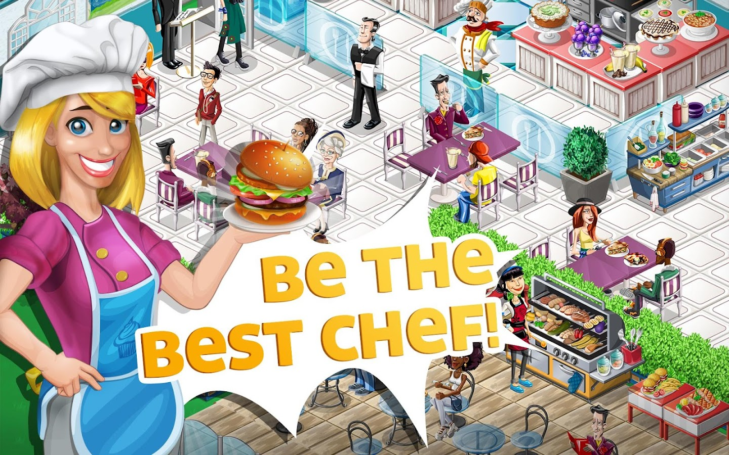 Chef Town: Cooking Simulation Screenshot 6