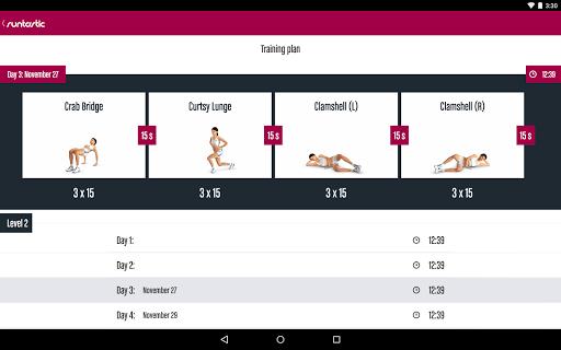 Runtastic Butt Trainer Workout screenshot 9