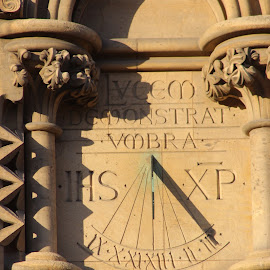 Sun-dial by Glyn Lewis - Buildings & Architecture Architectural Detail (  )