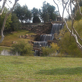 The Falls at Wichita Falls... by Arlita Baptista - City,  Street & Park  City Parks