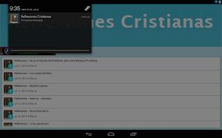 Screenshot of Reflexiones Cristianas