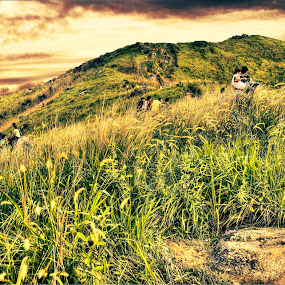 Broga Hill by Steven Chong - Landscapes Mountains & Hills