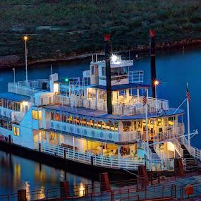 All Aboard by Joe Machuta - Transportation Boats