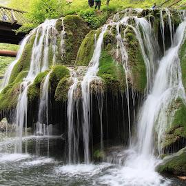Bigar Waterfall by Ovidiu Gruescu - Nature Up Close Natural Waterdrops