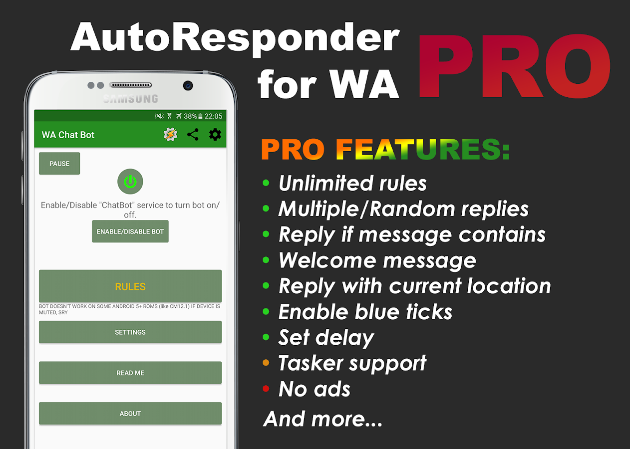 AutoResponder for WA Pro Screenshot 0