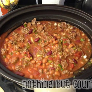 Crock Pot / Slow Cooker Copy Cat Wendy's Chili