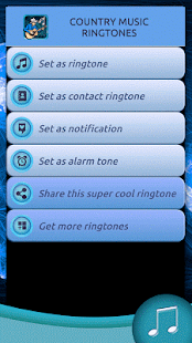 Country Music Ringtones - screenshot