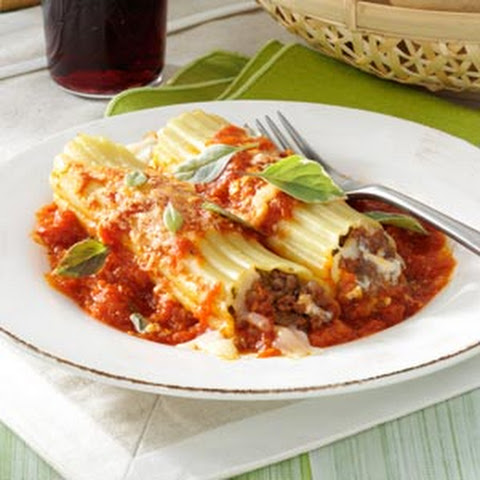 Beef+and+sausage+manicotti Recipes | Yummly