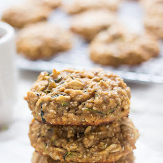 Zucchini Bread Quinoa Breakfast Cookies
