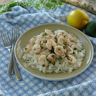 Garlicky Roasted Shrimp with Cilantro, Lime and Lemon