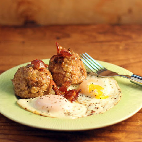 Canadian Breakfast Turkey Meatballs With Maple And Bacon