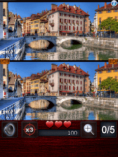 Game Spot the differences : Towns APK for Kindle