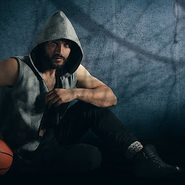 sports advertising by NSPD Studios - Sports & Fitness Basketball ( studio, lighting, editorial, baseball, fitness, advertising, sports, conceptual )