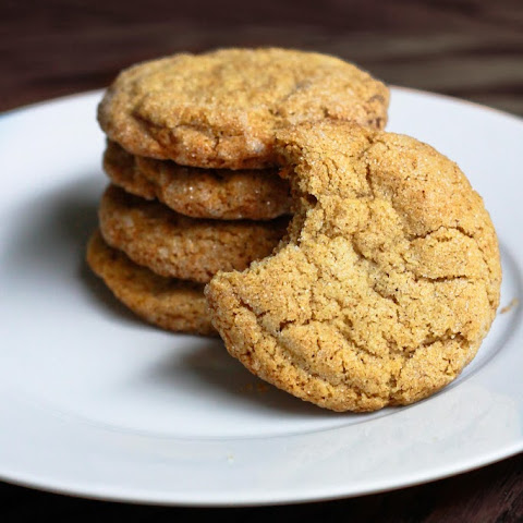 Gingersnap Molasses Cookies
