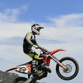 MotorCross #126 by Scott Welch - Sports & Fitness Motorsports ( photo by scott f welch, motorcross, motorcycle, mx, air, jump, motorcycle jump )