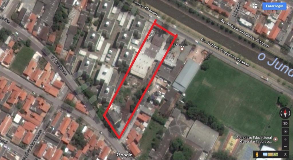 Área residencial/comercial à venda, Vila Rio Branco, Jundiaí - AR0005.