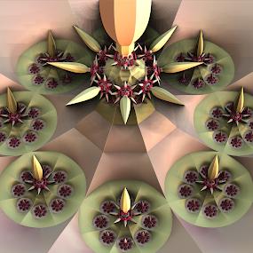 by Glenda Popielarski - Illustration Abstract & Patterns ( abstract art, digital art, fractal art, raw fractal, fractals )