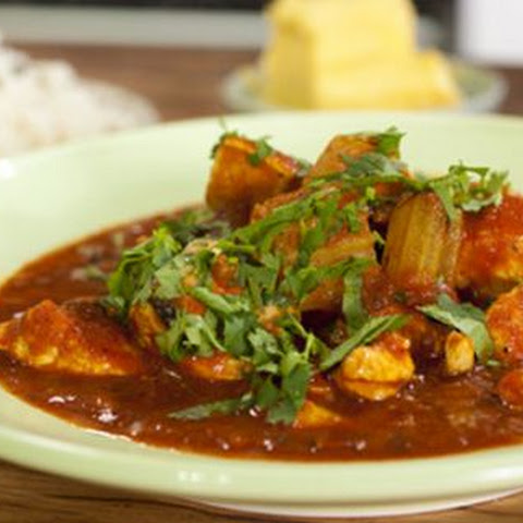 Butter Chicken with Pilaf Rice