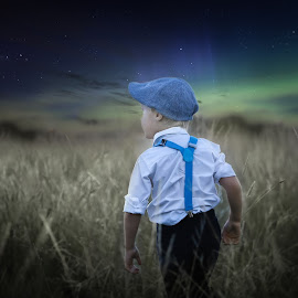 Night Sky by Pierre Vee - Babies & Children Child Portraits