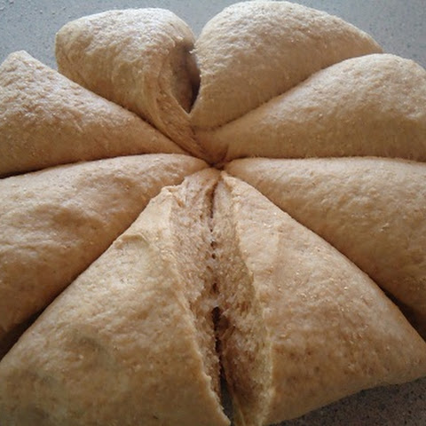 Homemade Whole Wheat Pita Bread
