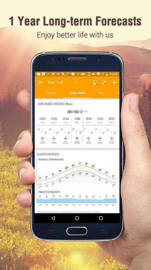 Amber Weather Lite Screenshot 3