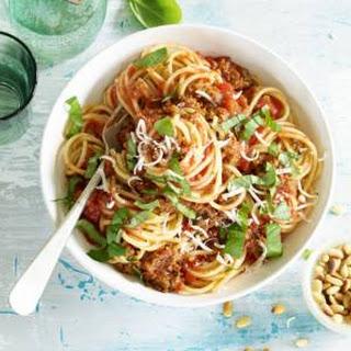 Sausage Spaghetti Bolognese Recipes