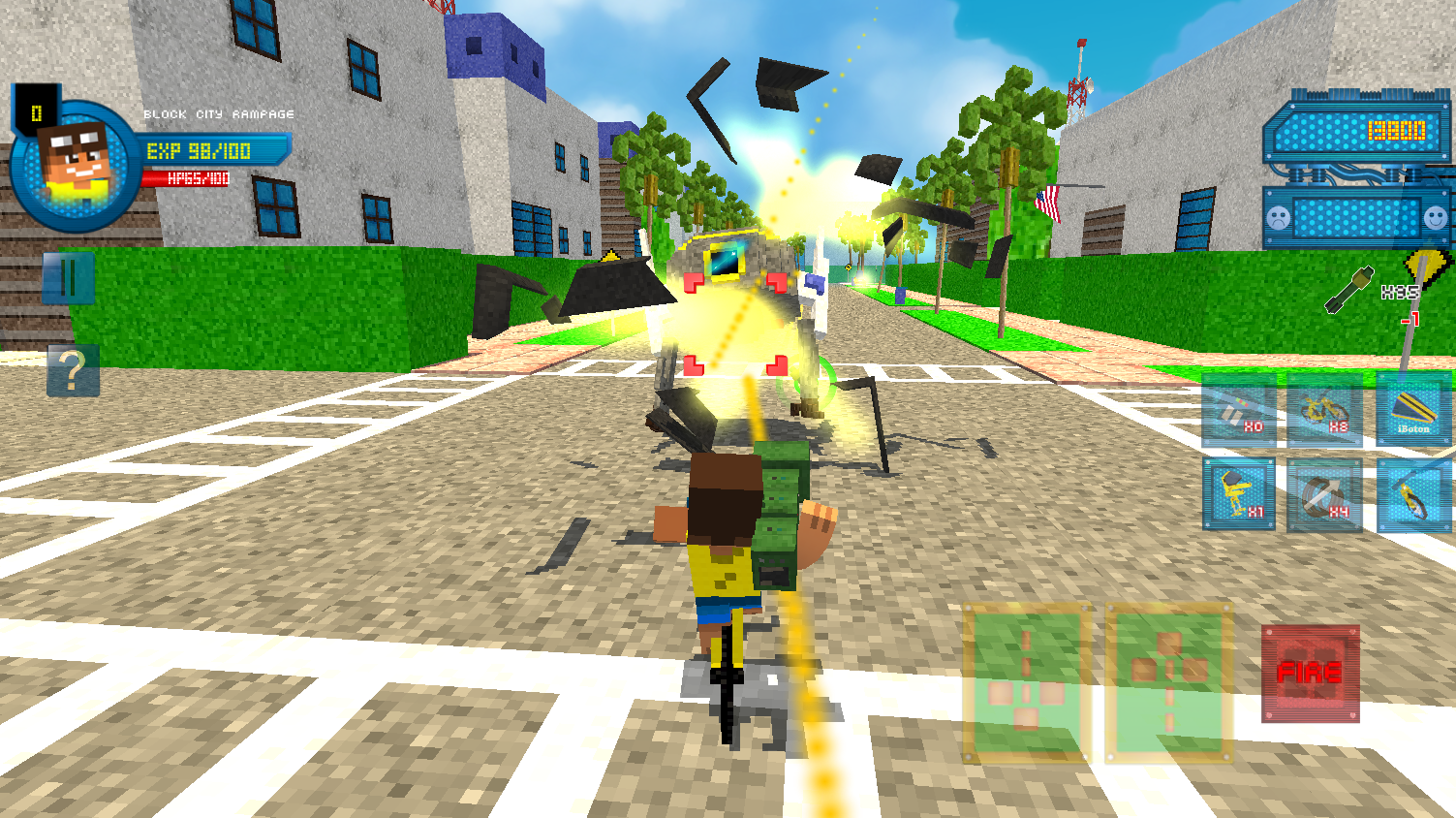 Block City Rampage Screenshot 3