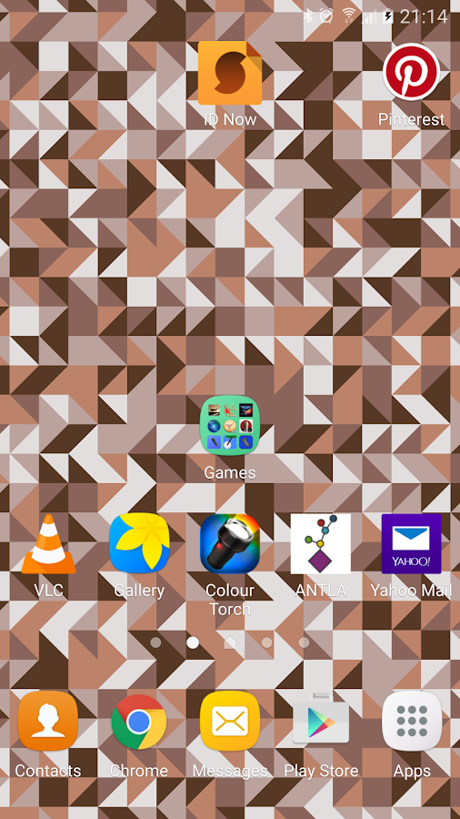 Triangles Live Wallpaper Screenshot 1