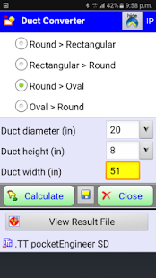 how to read a ductulator