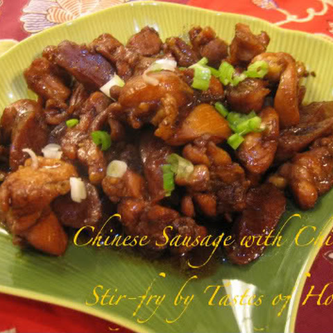 Soy Chicken with Chinese Sausage