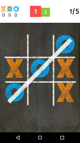 Tic Tac Toe Android App Screenshot