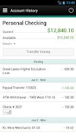Screenshot of East Wisconsin Savings Bank