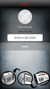 Claro QR Reader - screenshot